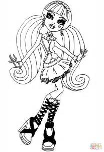 Cool Draculaura Coloring Page Free Printable Coloring Pages