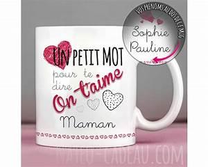 Tasse Fete Des Meres : mugs personnalis s pour maman marraine ou une amie id es cadeaux tasses personnalis es ~ Teatrodelosmanantiales.com Idées de Décoration