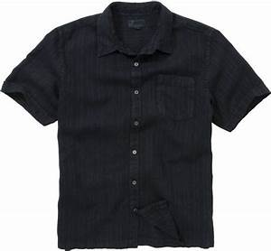 John Lewis Men Textured Linen Shirt Black Ink Navy in ...