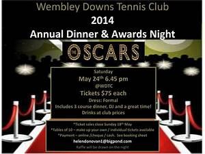 PPT - Wembley Downs Tennis Club 2014 Annual Dinner ...