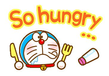 Line Official Stickers  Doraemon's Animated Phrases Example With Gif Animation