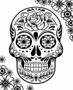 Free Printable Day of the Dead Coloring Pages - Best ...