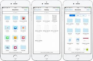 How to synchronize desktop documents folders across for View documents on iphone
