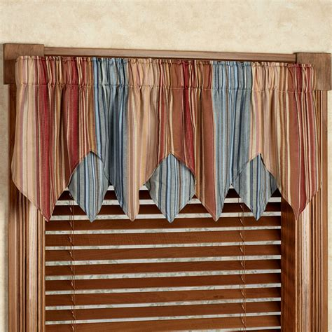 Striped Valances by Curtain Enchanting Jcpenney Valances Curtains For Window
