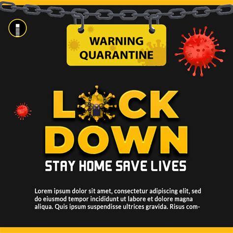 Download Coronavirus Lockdown Awareness & Alert Stay at ...