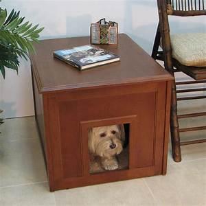 doggie den cabinet indoor dog house dog houses at hayneedle With dog den furniture