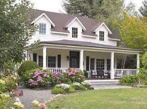 houses with big porches large wrap around porch cape cod landscaping dehors capes porches and cape cod
