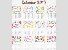 Cute Calendar 2018 impremedianet