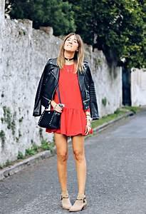 Outfit con vestido rojo u2013 Vestidos destacados
