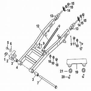 Drive Chain Adjuster For Keeway Superlight 125