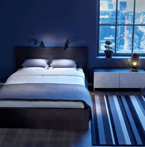 buoyant blue bedrooms  add tranquility  calm