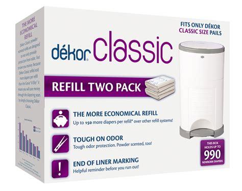 amazoncom diaper dekor  diaper pail liner refills