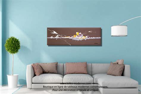 dessus canap tableau abstrait moderne salle manger design de maison