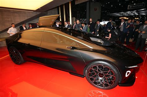 Aston Martin Lagonda Vision Concept Looks On Down The Road