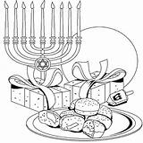 Hanukkah Coloring Pages Happy Menorah Printable Chanukah Jewish Celebrate Sheets Print Colouring Adult Everyone Preschool Digi Children Rocks Oil Days sketch template