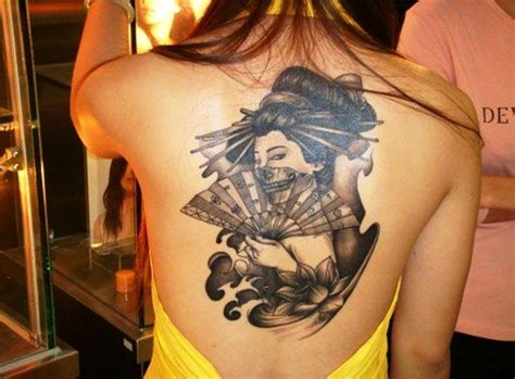 geisha tattoo ideas  men  women