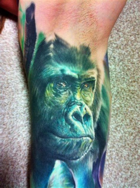 gorilla tattoos designs ideas  meaning tattoos