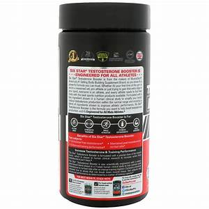 Six Star  Six Star Pro Nutrition  Testosterone Booster  Elite Series  60 Caplets