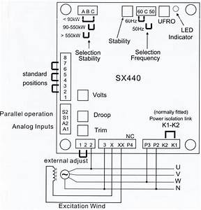 Wiring Diagram Avr Sx440