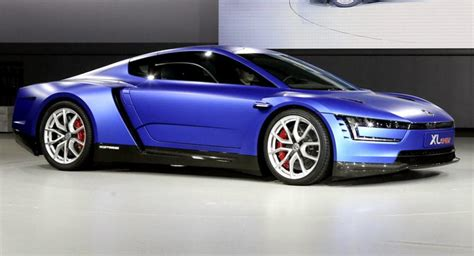 Volkswagen Xl1 Sports : Nuova Volkswagen Xl Sport Concept 2014, Con Motore V2