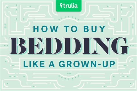 how to buy bed sheets like a grown up at home