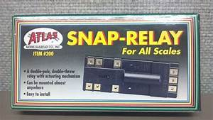 Atlas Snap Relay Electric Double Pole Model Train Tracks
