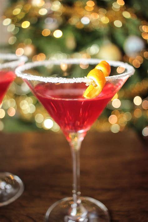 christmas martini recipe globe scoffers