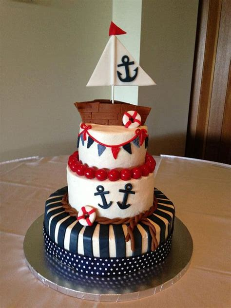 Sailboat Cake Topper by Cute Fondant Sailboat Cake Topper By Fondantcaketoppers On
