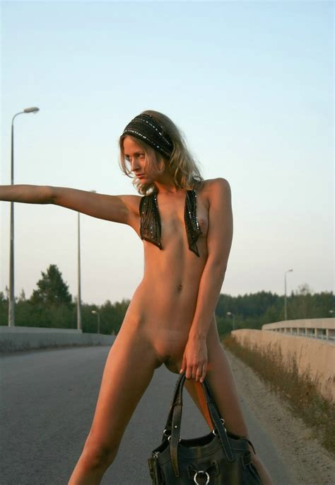 Hitchhiker On Highway