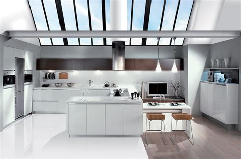 la cuisine blanche le des cuisines