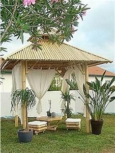 Tonnelle En Bambou : tonnelle ou pergola good good best pergola castorama ~ Premium-room.com Idées de Décoration