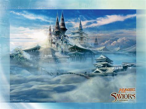 wallpaper   week oboro palace   clouds magic
