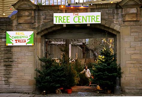 christmas tree warehouse at canonmills december 1995