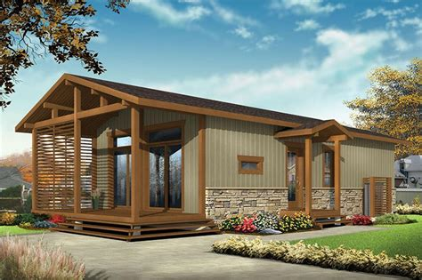 2 Bedrm 700 Sq Ft Cottage House Plan #126 1855