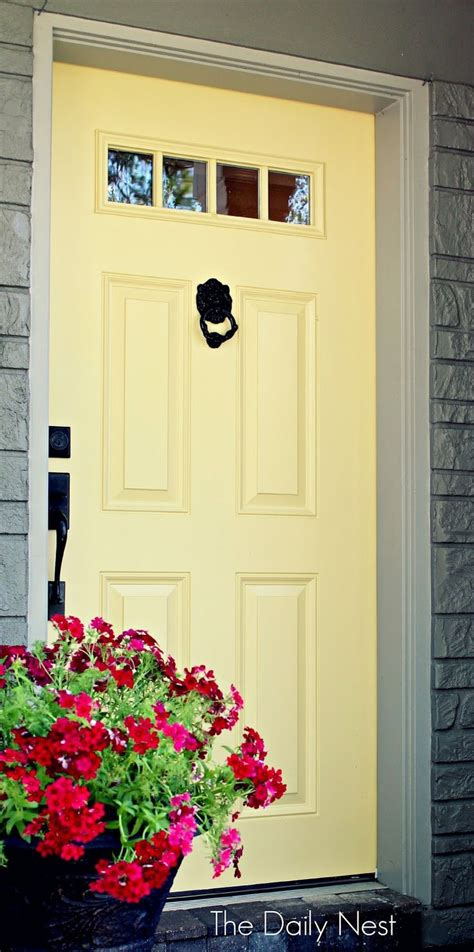 yellow door paint color best 25 yellow houses ideas on pinterest yellow things