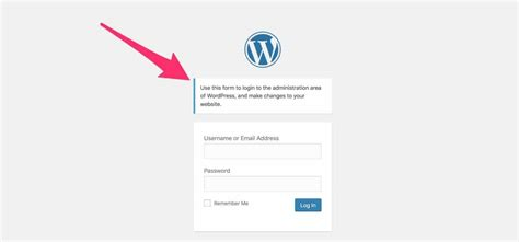 add  wordpress custom login message  wordpress login