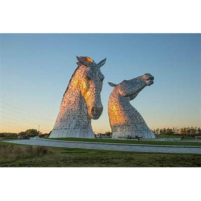 The Kelpies - Equine Art at HelixVisitScotland