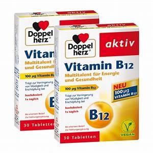 Vitamin D Dosierung Berechnen : doppelherz vitamin b12 doppelpack hier im nu3 shop kaufen ~ Themetempest.com Abrechnung