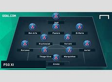 How will Paris SaintGermain line up with Jese? Spain