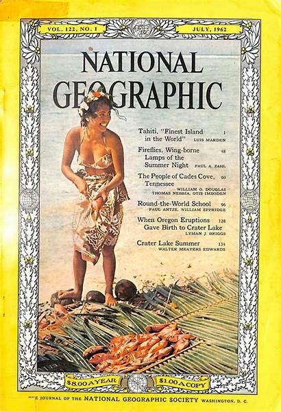 Geographic National Magazine 1962 July