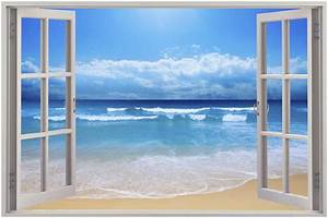 where do beach wall murals suit best decor things With beautiful beach decals for walls