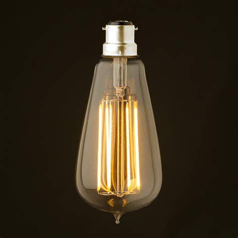 vintage led light bulbs 6 watt dimmable lantern filament led b22 clear edison