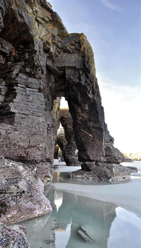 playa de las catedrales ribadeo galicia viajar por