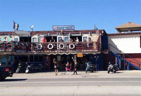 Deck Galveston Contact by Galveston Guide Best Bars On Galveston Island