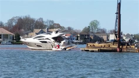 Houseboat Rentals Lake Norman Nc by Million Dollar Yacht Stuck On Lake Norman Since Saturday