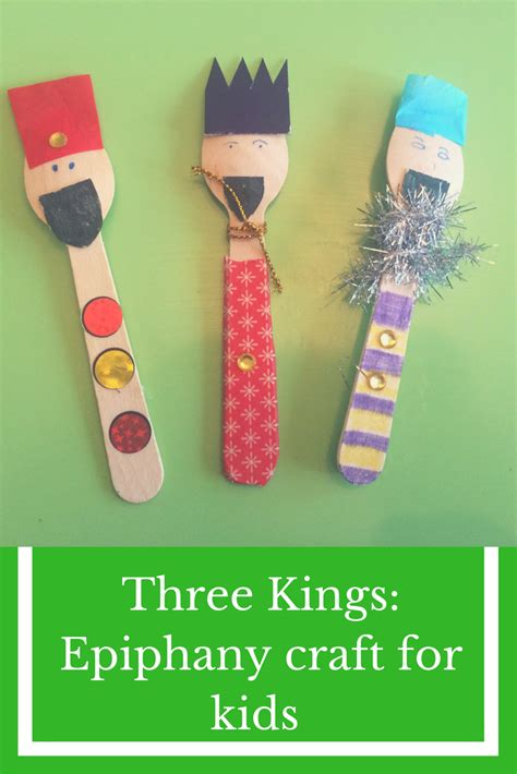 three a craft for epiphany the gingerbread house 349 | Three Kings Epiphany craft for kids