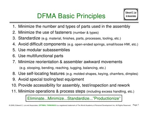 design for manufacturing design for manufacturing and assembly