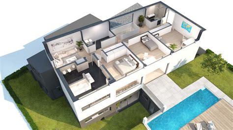 Moderne Häuser Zeichnen by Hausidee B 252 Rogeb 228 Ude Klima H 228 User