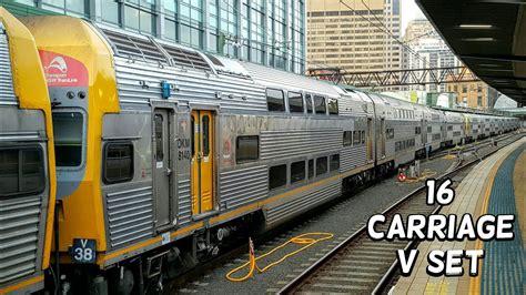 Sydney Trains Vlog 1282: 16 Carriage V Set - YouTube