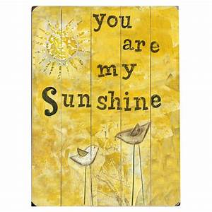 You are my sunshine wall decor bright art pinterest for You are my sunshine wall decor